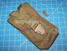 Canteen Case Pouch Coyote MOLLE PALS NSN 8465-01-516-7976 USMC Military w P38