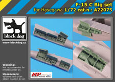 Black Dog A72075 Resin 1/72 McDonnell F-15C Eagle Big Set Hasegawa