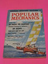 1960 MARCH POPULAR MECHANICS 28 PAGES ON BOATING JET BOATS KOLUMARAN