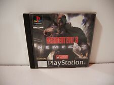 Resident Evil 3 Nemesis Sony Playstation PS1 PSone Pal Fr