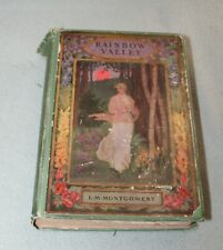Rainbow Valley by L M Montgomery  Vintage 1st Ed.  Stoke Publisher