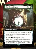 The Great Henge (Extended Art) Throne of Eldraine Near Mint Magic MTG