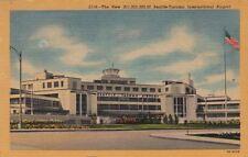 Postcard New Seattle Tacoma WA International Airport