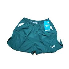 BROOKS Men's Green Running Shorts Built-in Briefs Athletic Shorts multiple Sizes