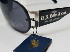 US POLO ASSN Sunglasses Black New w/ Tags & Hard Case Womens Unisex US 83077
