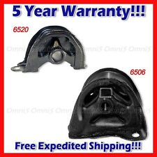 A464 For 93-97 Civic Del Sol 1.6L Front /Rear Motor Mount Set 2PCS MANUAL TRANS