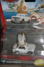 """DISNEY PIXAR CARS 2 """"POPE PINION IV"""" NEW IN PACKAGE,  DELUXE MODEL, SHIP WW"""