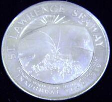 New Listing1959 St. Lawrence Seaway Sterling Silver Medal, Original Heraldic Art Packaging