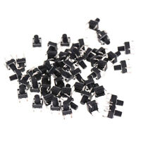 50pcs 6*6*8mm Tactile Push Button Switch Tact Switch Micro Switch 4-Pins Fad re