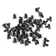 50X 6*6*8mm Tactile Push Button Switch Tact Switch Micro Switch 4-Pin、LQ