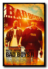 Bad Boys Ii Movie Poster 24x36 Inch Wall Art Print - Will Smith Martin Lawrence