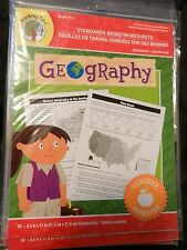 Geography Grade 4 5 6 Worksheets Curriculum Homeschool Teacher Reproducible