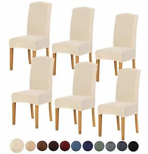Dining Chair Seat Cover for Home Decor Dining Chair fleece and velvet 4 or 6 pcs
