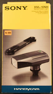 SONY HVL - 10NH Camcorder Battery Video Movie Light, NEW !!!