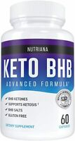 60 Keto Diet Capsules Exogenous Ketosis Supplement BHB Ketones Pills Weight Loss