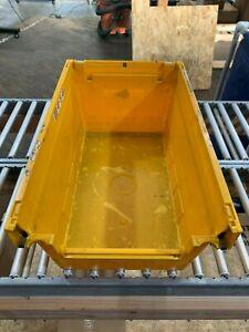 "Shelf Bins - Plastic Container/Storage 11"" x 18"" x 8"" - Set of 8"