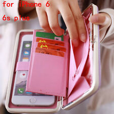 2017 new big box women purse long wallet card holders handbag mobile phone case