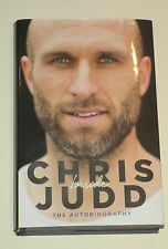 Chris Judd (Carlton & West Coast) signed Autobiography/Book + COA & Photo proof