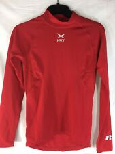 Russell Red Dri Power Stretch Fit Athletic Shirt Youth Large