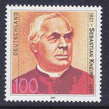Germany 1969 MNH 1997 Fr. Sebastian Kneipp - Hydrotherapist Issue