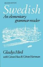 Swedish : An Elementary Grammar-Reader by Gladys Hird (1980, Paperback, Revised)