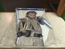 Star Wars Attack of the Clones OBI-WAN KENOBI Life Size Cardboard Stand Up NEW