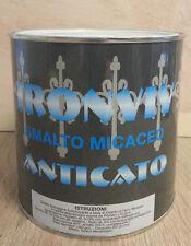 IRONVIV Smalto Micaceo Anticato 0,75 lt antiruggine grana media Nero 3205