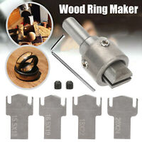 6X Ring Drill Bit Maker Wooden Thick High Speed Steel Multi Cutter Wood Tool Set