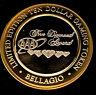 .999 $10 Bellagio Casino Silver Strike • Las Vegas • AAA Five Diamond Award