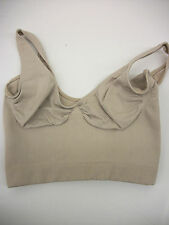 Bralette Wire Free Shaper - Sassybax - Size Petite -NUDE - New Without Tags