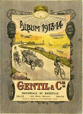 """""""ALBUM 1913-14 GENTIL & Cie"""" Catalogue original de pièces détachées 258 pages"""