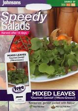 Johnsons Vegetable Mixed Leaves 'Gourmet Garnish' ('Micro-Greens') - 1000 Seeds