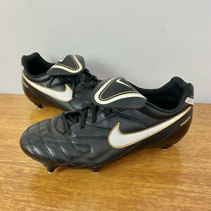 Nike Tempo Leather Football Boots Size 5 - Excellent Condition - Classic Style