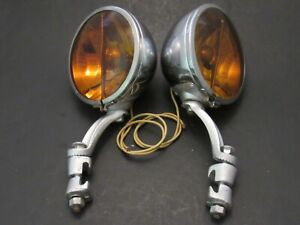 1930 's Vintage Accessory Fog Lights Sears four Star KD Driving Lamps