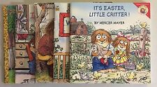 Lot of 5 Children's Books - Little Critters by Mercer Mayer, Assorted Titles