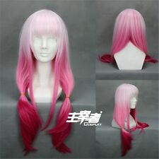 Guilty Crown Inori Yuzuriha Gradient Anime Cosplay Costume Wig + Free CAP +Track
