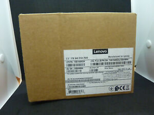 "Lenovo 2.5"" 1TB SAS 512n HDD, P/N: 7XB7A00034, Factory Sealed"