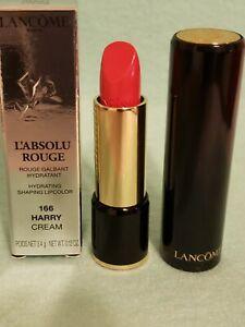 Lancome-L'Absolu Rouge Hydrating Shaping Lipstick - #166 Harry Cream NIB