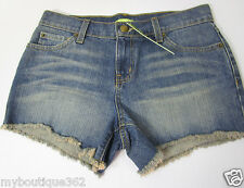 GIANNI BINI CUT OFF DENIM  shortS size 26 new NEW WITH TAG