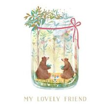 Lovely Friend Friendship Greeting Card By The Curious Inksmith Greetings Cards