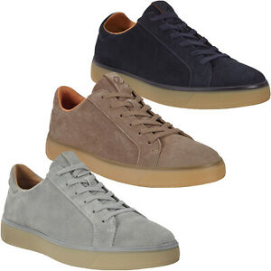ECCO Mens Street Tray Casual Leather Street Style Trainers Sneakers Shoes