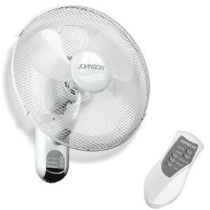Ventilatore a parete muro telecomando 3 pale 3 velocità oscillante 43 cm - Rotex