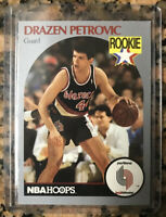 1990 NBA Hoops Drazen Petrovic #248 Great Investment Mint Psa ??