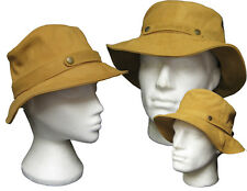 New TIMBERLAND Leather Unisex BUCKET Crusher Hat Small