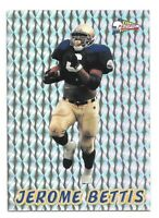 Jerome Bettis Rookie Card 1993 Pacific Prisms #48 Pittsburgh Steelers HOFer RC