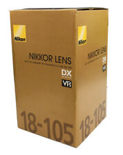 NEW BOX // NIKON AF-S DX 18-105mm F/3.5-5.6 G ED VR LENS 4 D90 D7000 D300S