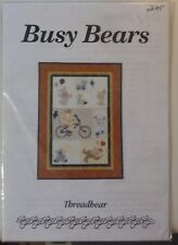 Patchwork Quilting Pattern -  Busy Bears by Threadbear The Chook Shed