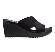 Crocs Leigh II Xstap Wedge 204949-060 black