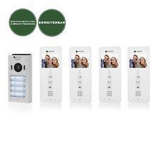 Video Türsprechanlage 2 Draht Sprechanlage Mehrfamilienhaus Gegensprechanlage