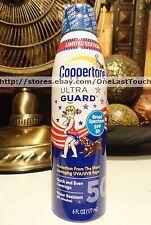 COPPERTONE Continuous Spray ULTRA GUARD Sunscreen LIMITED EDITION SPF 50 6 oz
